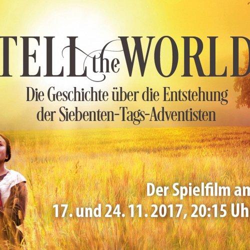 Bild zum Weblog Tell The World - auf Deutsch!
